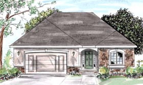 Traditional House Plan 68875 Elevation
