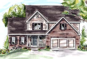 Country House Plan 68878 Elevation