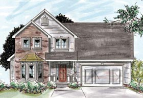 Traditional House Plan 68883 Elevation