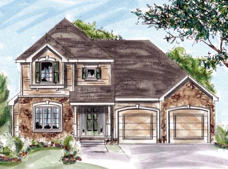 Craftsman House Plan 68885 Elevation