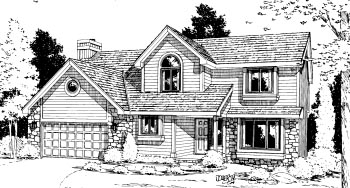Country House Plan 68923 Elevation