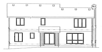Country House Plan 68923 Rear Elevation