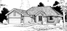 Traditional House Plan 68924 Elevation