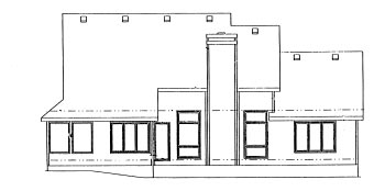 Country House Plan 68935 Rear Elevation
