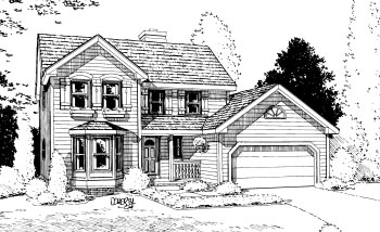 Country House Plan 68938 Elevation