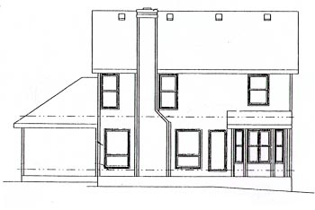 Country House Plan 68938 Rear Elevation