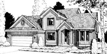 Traditional House Plan 68945 Elevation