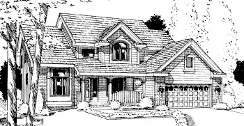 Country House Plan 68948 Elevation