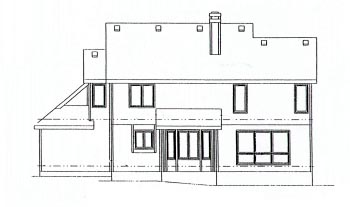 Country House Plan 68948 Rear Elevation