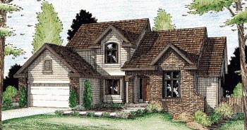 Country House Plan 68951 Elevation