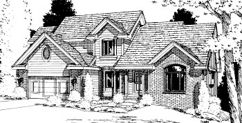 Country House Plan 68952 Elevation