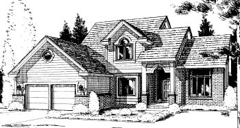 Country House Plan 68965 Elevation