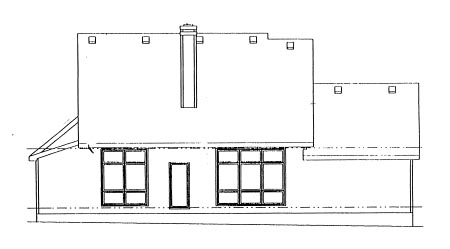 Country House Plan 68972 Rear Elevation