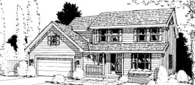 Country House Plan 68980 Elevation