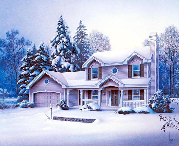 Country Traditional House Plan 69000 Elevation