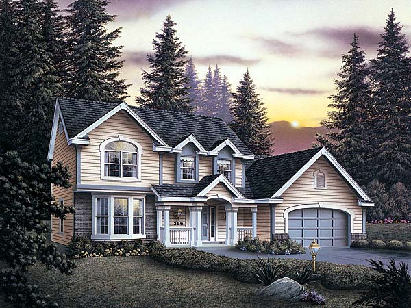 Traditional House Plan 69005 Elevation