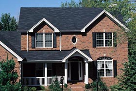 House Plan 69009 with 4 Beds, 3 Baths, 3 Car Garage Elevation