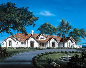 Traditional House Plan 69012 Elevation