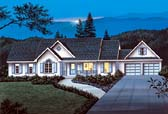 Plan Number 69016 - 1708 Square Feet
