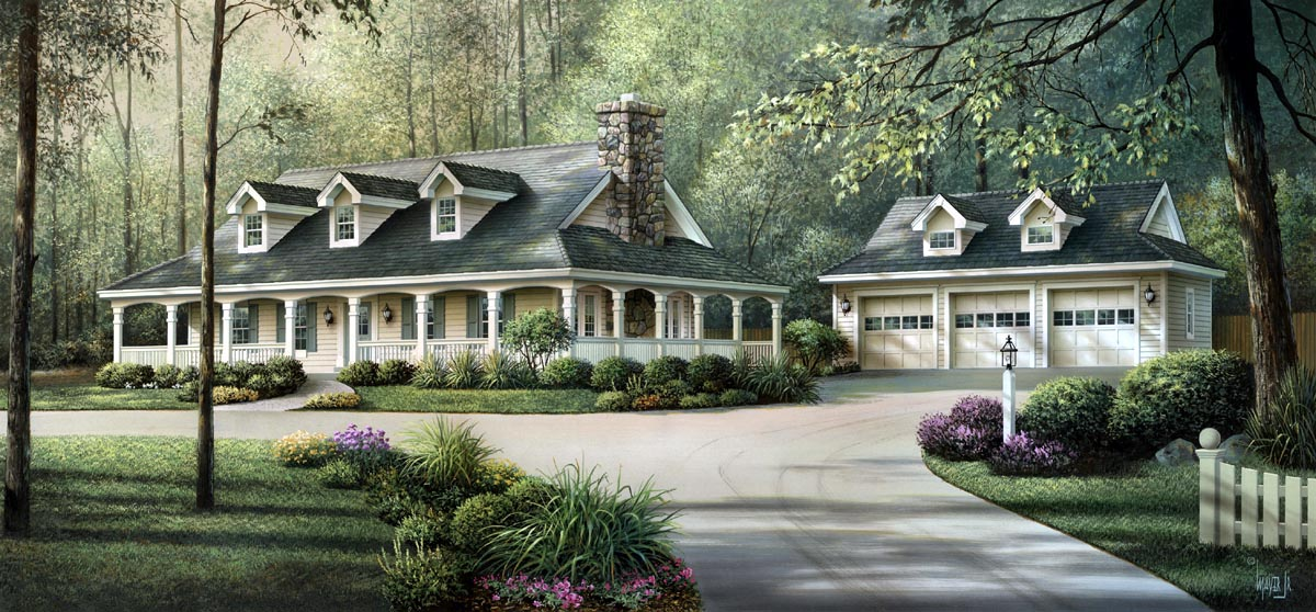 House Plan 69020 At