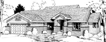 Traditional House Plan 69022 Elevation