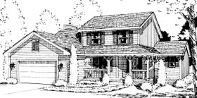Plan Number 69024 - 2038 Square Feet