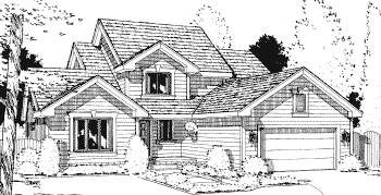 Country House Plan 69026 Elevation