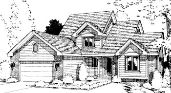 Country House Plan 69027 Elevation