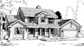 Plan Number 69031 - 2562 Square Feet