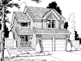 Country House Plan 69032 Elevation
