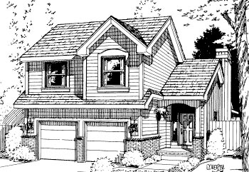 Traditional House Plan 69033 Elevation