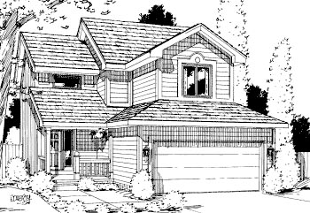Traditional House Plan 69034 Elevation