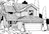 Plan Number 69034 - 1852 Square Feet