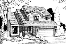 Traditional House Plan 69035 Elevation