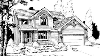 Country Traditional House Plan 69036 Elevation