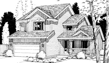 House Plan 69037 Elevation