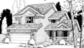 Plan Number 69037 - 1737 Square Feet