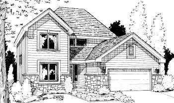 Traditional House Plan 69038 Elevation