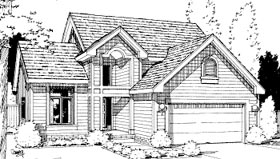 Traditional House Plan 69039 Elevation
