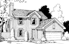 Traditional House Plan 69041 Elevation