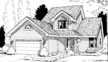 Country House Plan 69042 Elevation