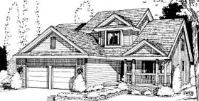 Country House Plan 69044 Elevation