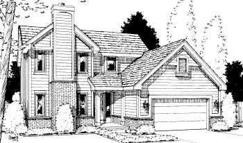 Traditional House Plan 69047 Elevation