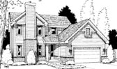 Plan Number 69047 - 1672 Square Feet