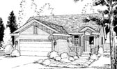 Plan Number 69049 - 1333 Square Feet