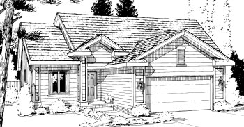 Ranch House Plan 69050 Elevation