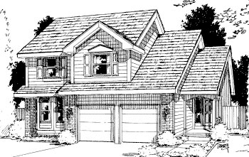 Traditional House Plan 69052 Elevation