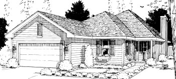 Traditional House Plan 69053 Elevation