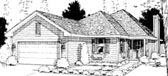 Plan Number 69053 - 1705 Square Feet