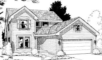Country House Plan 69056 Elevation